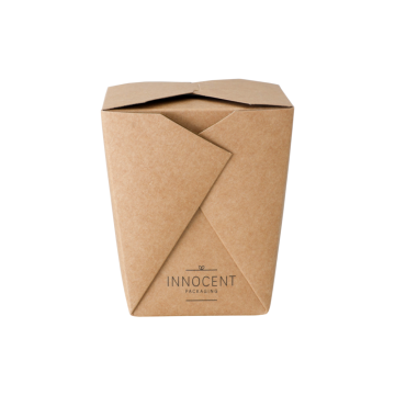 Paper noodle box food packaging