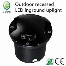 Outdoor recessed led inground uplight