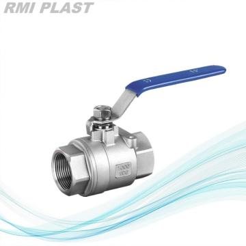 2-PC  Stainless Steel Ball Valve Screw End