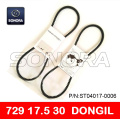 DONGIL DRIVE BELT V BELT 729 x 17.5 x 28 SCOOTER V BELT ORIGINAL QUALITY