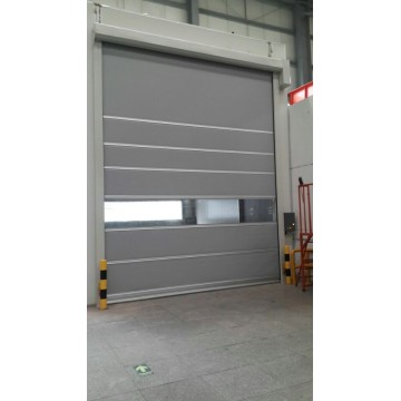 PVC High Speed Rolling Shutter Door