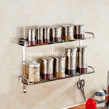 Bathroom Double Tray Rack