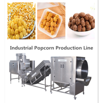 Flavored popcorn production line with high quality