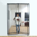 Polyester Magnetic Mosquito Mesh Door Curtain