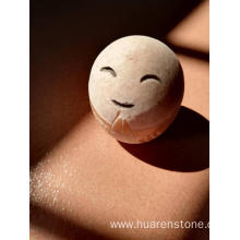 Quality for China Animal Sculpture,Stone Dog Statue,Stone Owl Statue Manufacturer and Supplier Pebble craft ideas smile supply to Germany Manufacturer