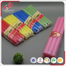 Refined Paraffin Wax Multi-colored Small Pillar Candles