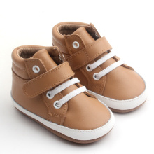 Breathable Leather Soft Sole Baby Footwear Boots