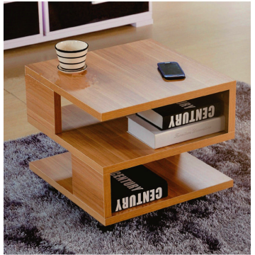 Modern mdf wood coffee table for living room