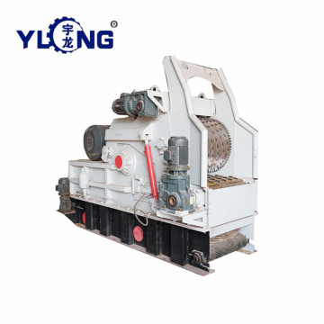 Mesin chipper kayu Yulong di India
