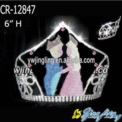 Valentine's Day Custom Pageant Crowns