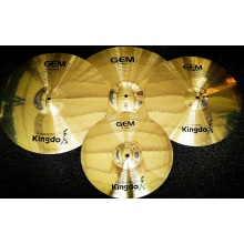 Good Quality for Brass Cymbals Brass Polishing Drum Cymbals Set supply to Libya Factories
