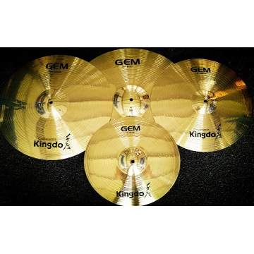 Brass Polishing Drum Cymbals Set
