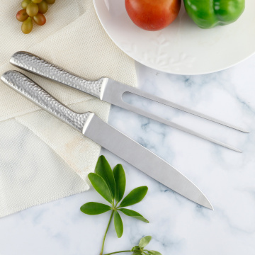 BBQ Meat Carving Knife and Fork Set