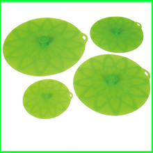 China Factory for Large Lily Pads New Design Useful Flexible Silicone Lid Set export to Latvia Factory