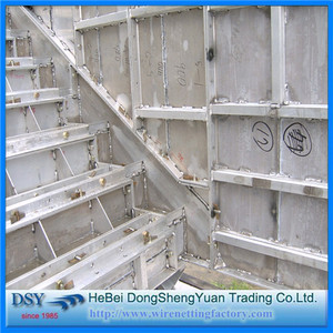 Heavy Construction Aluminum Formwork System Stairs