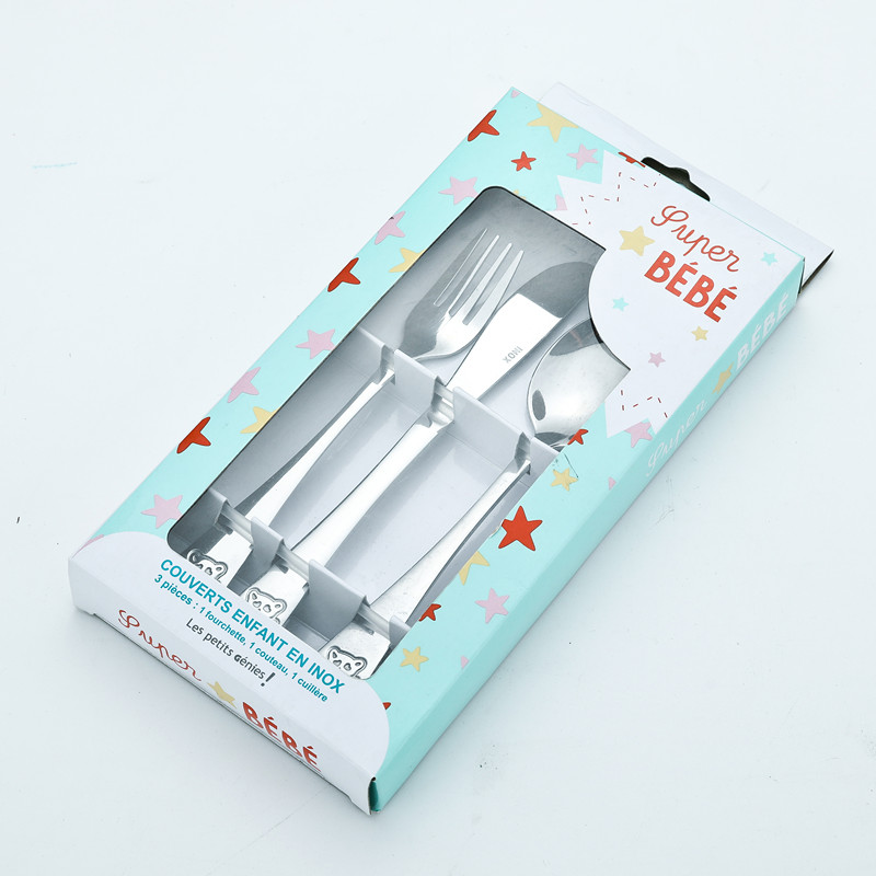 Stainless Steel Children's Cutlery Set