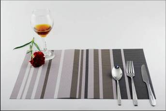Stripe series of household business dining mat decoration11