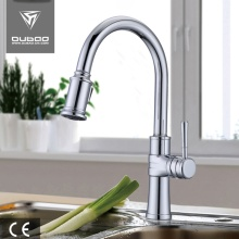 Goose Neck Rotating Hot Cold Kitchen Tap Faucets