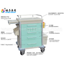 Anesthetic vehicles cart for hospital