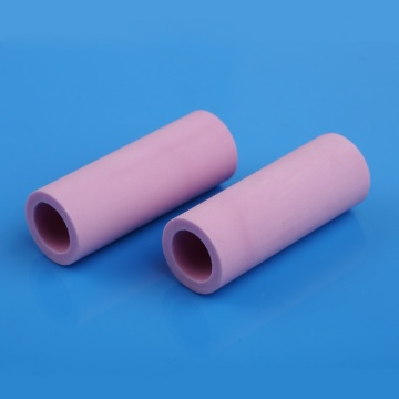 I-Pink insluating alumina tube ceramic