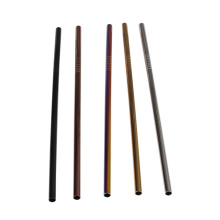 New Design Food Grade Stainless Steel Straws