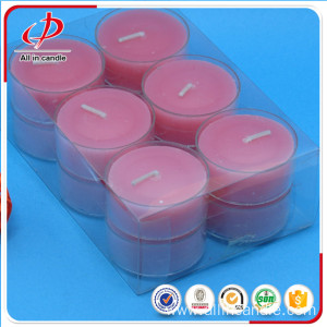 Long burning colorful birthday party tealight candles
