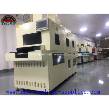Low Cost for Offer Shoe Making Equipment,Production Line Conveyor,Cloth Folding Machine From China Manufacturer Double Side Freezing UV Irradiating Machine export to South Korea Supplier