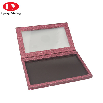 Luxury Glitter Eyeshadow Palette Packaging