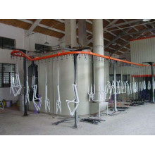 automatic Electrostatic metal coating line