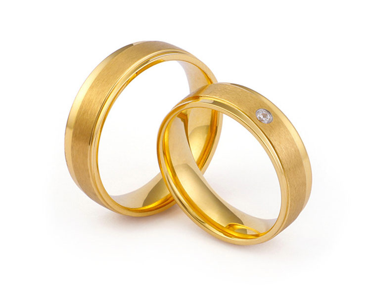gold ring for couple