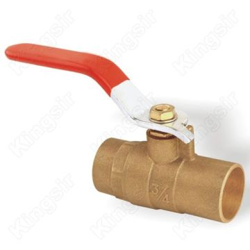 Brass Ball Valves With Solder Ends