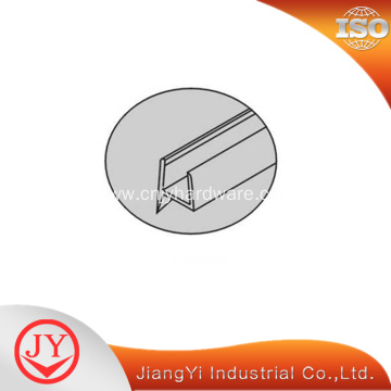 Modern glass shower door bottom seal strip