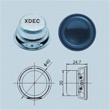 Supply for Bluetooth Mini Speaker 40mm speaker parts 4ohm 3w small speaker export to United Arab Emirates Manufacturer