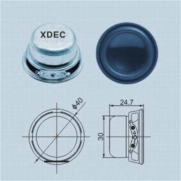 Ordinary Discount Best price for Mini Lamp Speaker 40mm speaker parts 4ohm 3w small speaker export to Kuwait Suppliers