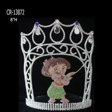 After School Summer Holiday Dance Girl Pageant Crowns