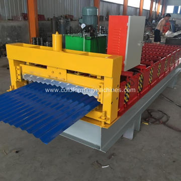 Corrugate Tile Roof Steel Roll Forming Machine