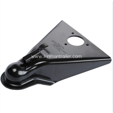 removable trailer coupler lock