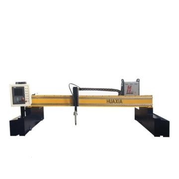Gantry cnc plasma cutter within electrodes