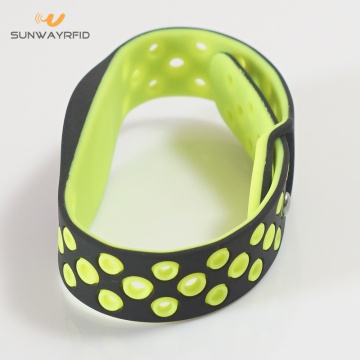 New Design Double Color RFID MIFARE Classic Wristband