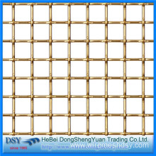 Brass Copper Crimped Wire Mesh for Sales