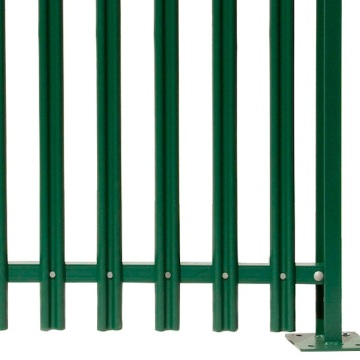 Decorative hot dipped galvanized Palisade Garden Europe Fence