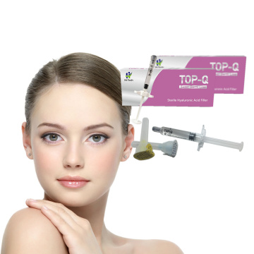 Hyaluronic Acid Injectable Filler TOP-Q Super Derm Line 2ml Lip Fillers