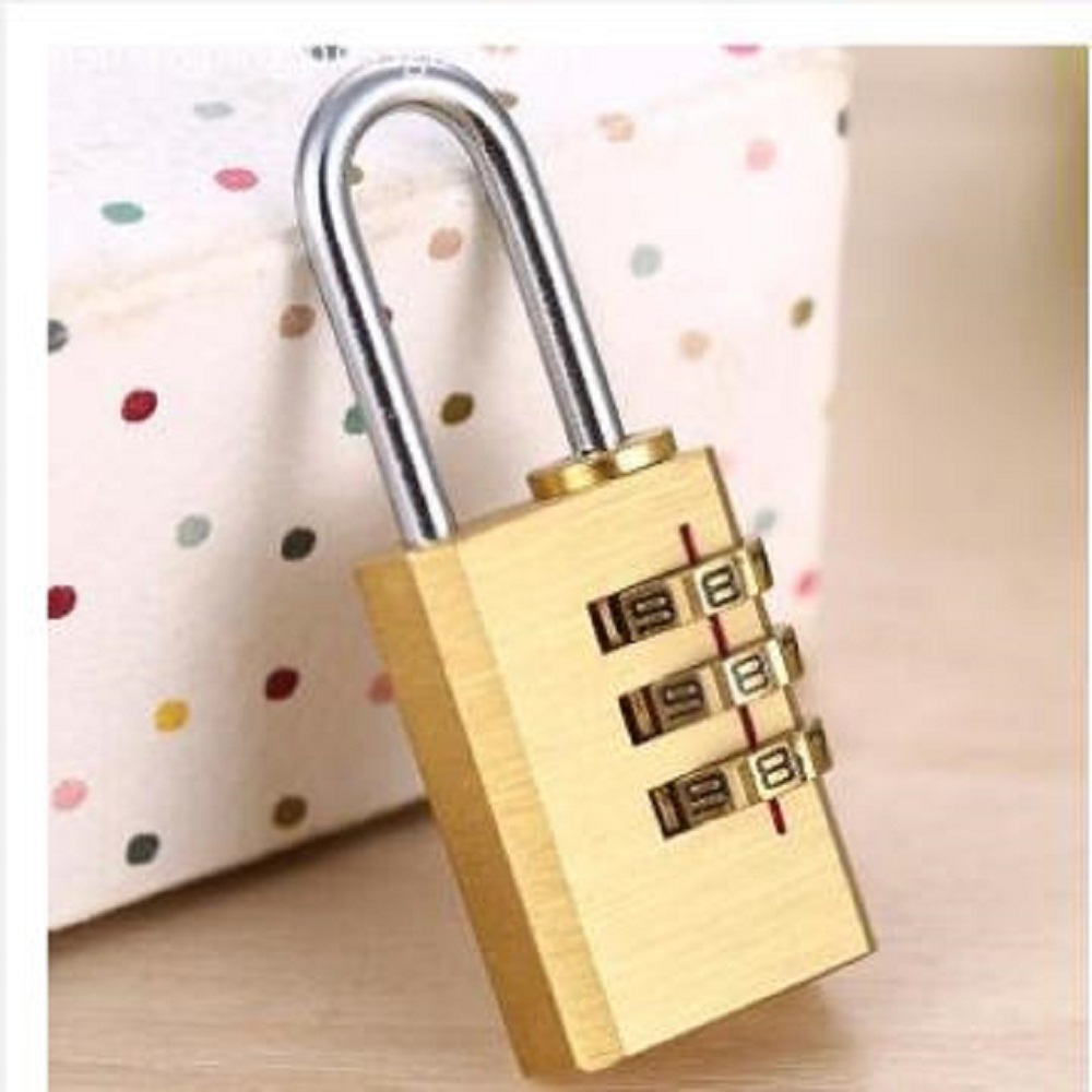 Brass Combination Padlock