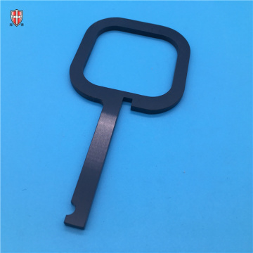 isolated silicon nitride ceramic machinery handle components