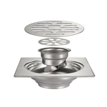 Bathroom 304 Stainless Steel Cover Shower floor drain