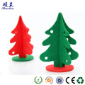 Die cut felt Christmas tree decoration