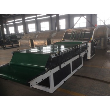 TM semi automatic flute laminator machine