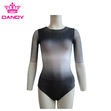 Sublimated Ombre Kids Dance Leotards рақс