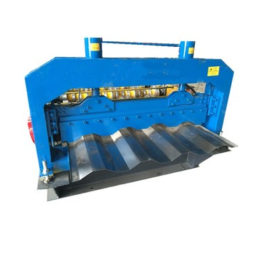 Large size container roll forming machine