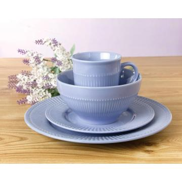 Light purple cute tableware dinner sets